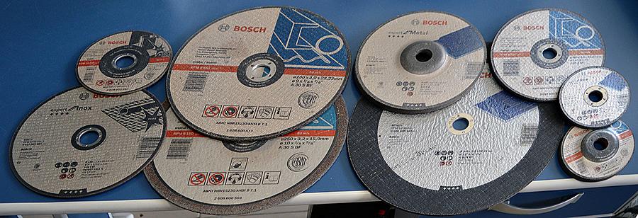 Discos para corte de ferro